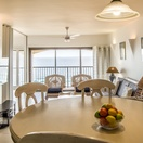 Open Plan Lounge and Dining Area, Balcony, 802 The Bermudas